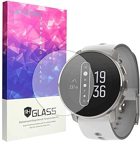 SkyBand [3 Pack Protector] 9H Protector De Pantalla De Cristal Templado Compatible para Reloj Inteligente SUUNTO 9 Peak (3 Pack)