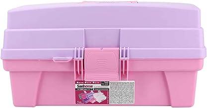 Santul 6239 Caja Vanity, 14 pulgadas, morada/rosa