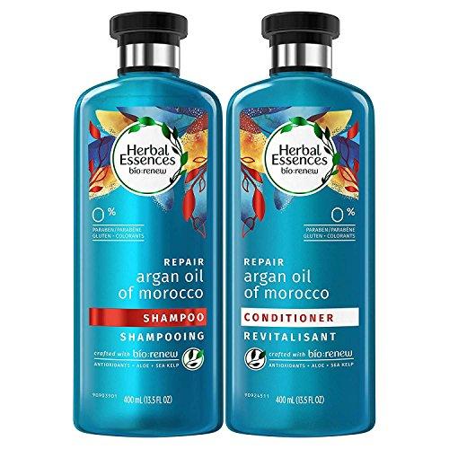 Herbal Essences Biorenew aisCNl 13.5 OZ, Argan Oil of Morocco, Shampoo and Conditioner (Pack of 2)
