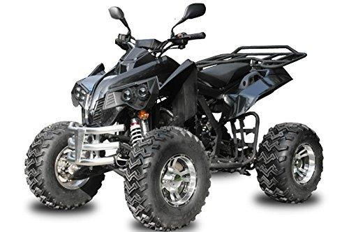 Nitro Motors AUFGEBAUT 250cc EGL Street Hummer mit Straßenzulassung Alu Räder + Anhängerkupplung Quad ATV (Camouflage)