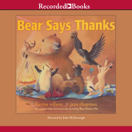 Bear Says Thanks audiobook cover art