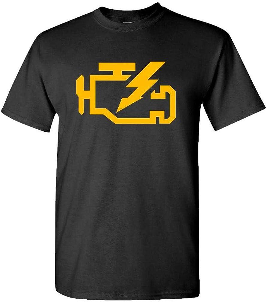The Goozler Check Engine Light Mechanic auto Repair - Mens Cotton T-Shirt