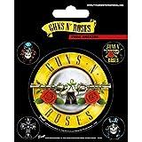 Pyramid International Guns N' Roses - Pegatinas de vinilo (10 x 12,5 x 1,3 cm), multicolor