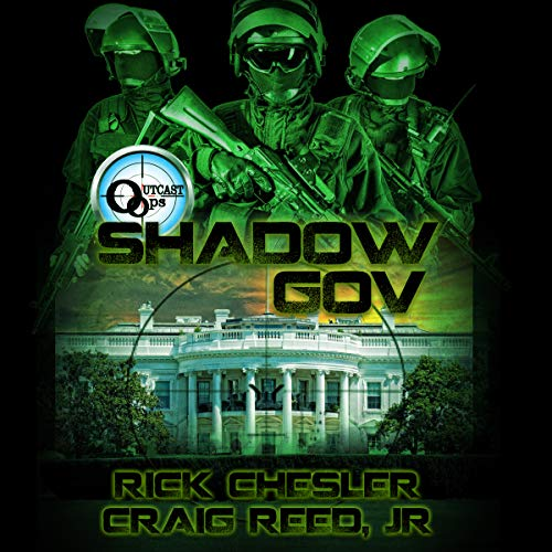 Outcast Ops: Shadow Gov audiobook cover art