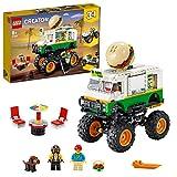 LEGO 31104 Creator Monster Truck Hamburguesería, Juguete de Construcción