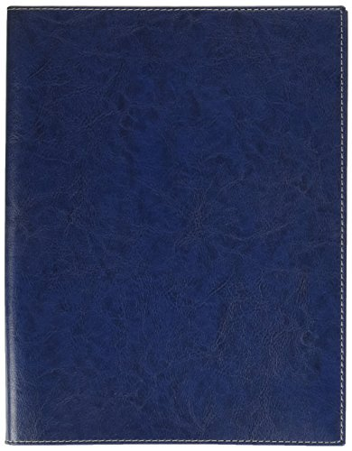Quo Vadis 684009Q Agenda PRESIDENTE S Lingua italiana Anno 2022 Colore Blu Bleuet Formato 21x27cm Settimanale 13 Mesi Dicembre-Dicembre Carta Bianca con Spirale Copertina Amovibile In Sintetico Madera