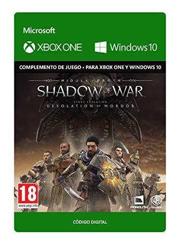 Middle-earth: Shadow of War - Desolation of Mordor - Xbox One - Código de descarga