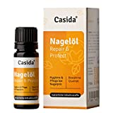 CASIDA ® Nagelöl Repair & Protect - aus der Apotheke - zur kosmetischen Behandlung bei Nagelpilz - 10 ml Fläschchen - hygienisches Nagelpflegeöl gegen Pilz-Infektionen