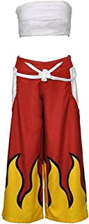 Poetic Walk Fairy Tail Erza Scarlet Cosplay Costume Fight Outfit