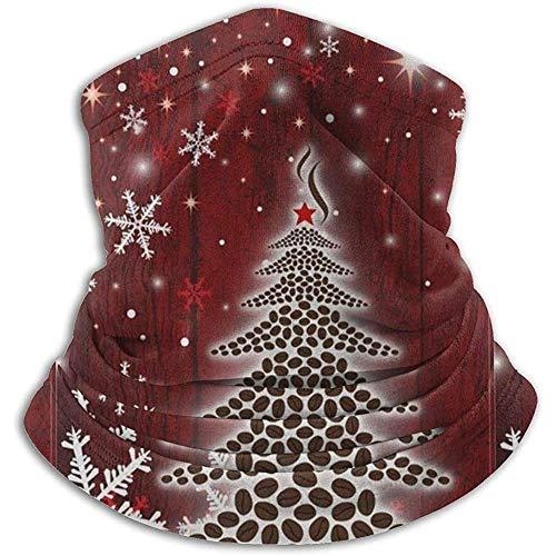 Duang Face Cover Árbol De Navidad Copo De Nieve Cuello Polaina Calentador Snowboard Multifuncional Cuello Cortafuegos Calentador De Cuello Cuello Ligero Polaina Tubo Bandanas Elástico Ca