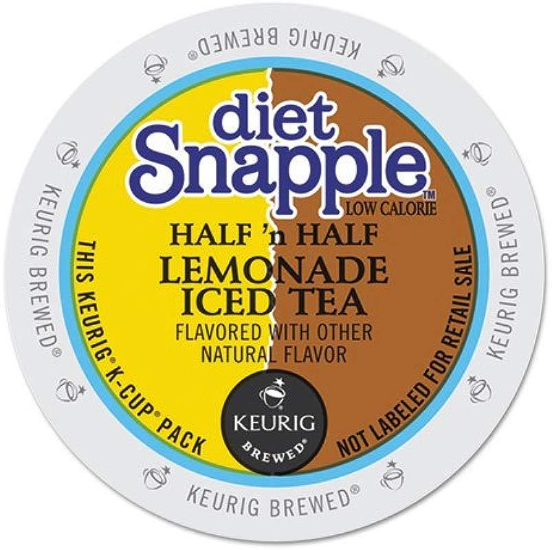 KEURIG Diet Snapple Lemonade Half N Half K Cups 22 Box