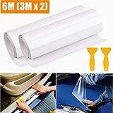 STARPIA Film Protection Auto 2 Pack, Peinture Film de Protection Transparent pour...