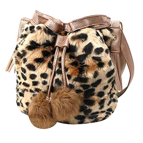 Light weighted, soft, breathable, waterproof and fashionable. Dimension: (Length*Width*Height) 25*13*14 cm/9.8*5.1*9.4 in. Craft-super elastic, with leather handle and bottom base, with fur ball decoration. A lovely bag full of personality, so fresh ...