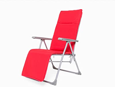 LXJYMXCreative Lounge Chair Lunch Break Lounge Chair, Folding Chair, Multi-Level Beach Chair Adjustment @