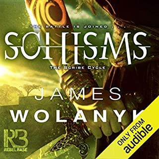 Schisms audiobook cover art