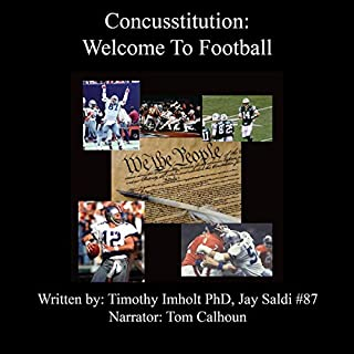 Concusstitution, Welcome to Football cover art