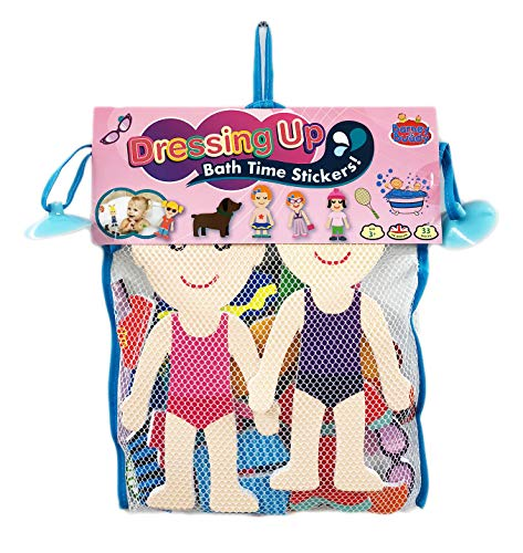 Buddy & Barney BA008 Dressing Up Bath Time Stickers