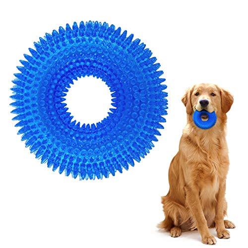 TINGERIA® Hundespielzeug für große Hunde, Hund Kauspielzeug quietschend, Hunde Spielsachen unzerstörbar, Quietschspielzeug mittelgroße bis große Hunde sowie Aggressive Kauer