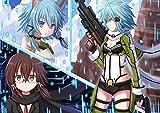 XYDH 500 Piezas Puzzles Juegos FamiliaresAnime Sword Art Online II Rompecabezas De Madera,Educativos Creativo para Adultos Y NiñOs VíVidos Regalos/52 * 38CM