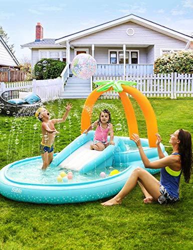 Sable Play Center Wasserspielcenter Kinder Aufstellpool Planschbecken 283 x 177 x 154 cm Für 3+ Jahre