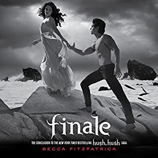 Finale     Hush, Hush, Book 4              Written by:                                                                                                                                 Becca Fitzpatrick                               Narrated by:                                                                                                                                 Caitlin Greer                      Length: 9 hrs and 45 mins     7 ratings     Overall 4.7