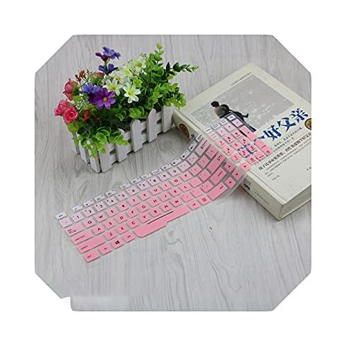 Custodia per notebook con tastiera, per Asus Rog Strix Gl753 Gl753Vd Gl753Ve Gl553 Gl553Vd Gl553Ve Zx53Vw 17.3 15.6 inch-fadepink