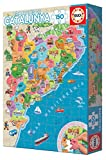 Educa- Comarques Catalunya Puzzle, 150 Piezas, Multicolor, 100 (17269)