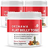 (3 Pack) Okinawa Flat Belly Tonic Powder Drink Japan Supplement Reviews (30oz)