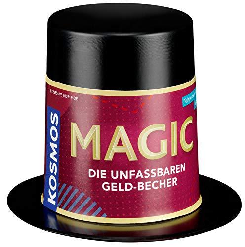 KOSMOS 601720 Magic Mini Zauberhut - Die unfassbaren Geld-Becher Zauber-Set