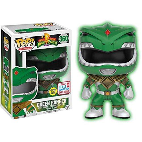 Funko POP! Power Rangers - NYCC 2017 Green Ranger Glow Exc Vinyl Figure #360
