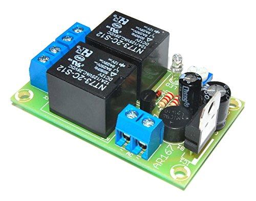 ArliKits AR167M Lautsprecherschutz mit Einschaltverzögerung Modul Schutzschaltung grün