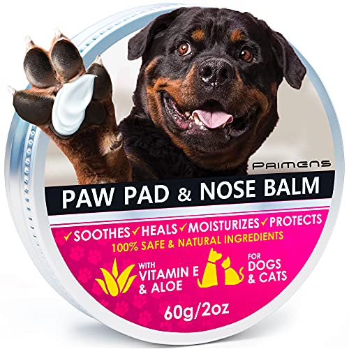 Primens Natural Dog Paw Balm, Dog Paw Protection for Hot Pavement