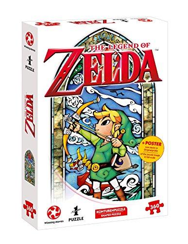 Puzzle su Ins, Avventura con The Legend Of Zelda–The Wind Waker Hero S Bow (360pezzi, con poster del Disegno in grandezza originale)