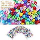 Immagine 2 fogawa 1800pcs perline colorate per