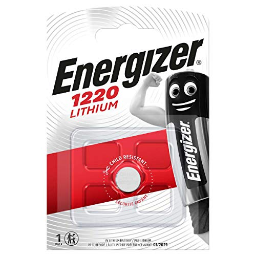 Energizer Lithium 3V CR 1220 Knopfzelle, Silber