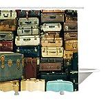 Yeuss D¨¦coration vintage Collection, color¨¦, Valise vintage Cuir vieilli...