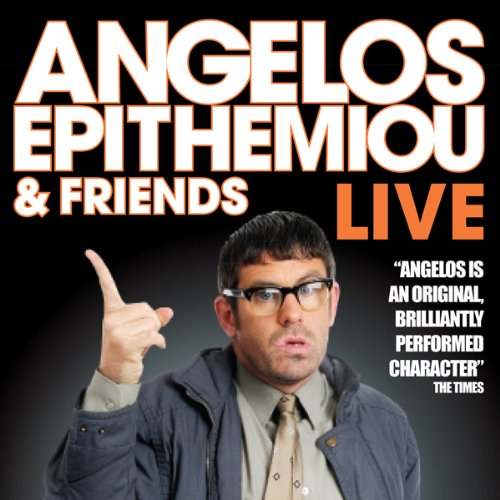 Angelos Epithemiou and Friends Live cover art