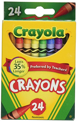Crayola Crayons 24 Count  2 Packs 523024