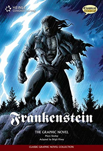 Classical Comics - Frankenstein: Text + Audio CD