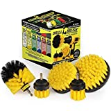 Drillbrush 5 Piece Bundle - Save 30% with Our Bundle - Add a 5 Inch Brush to Our 4 Piece Bathroom Drill Brush Spin Scrubber Kit