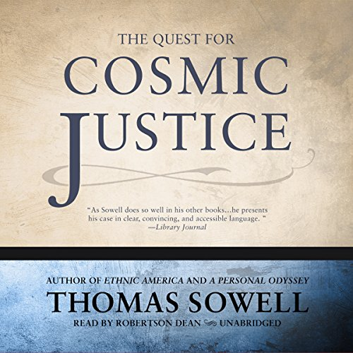 The Quest for Cosmic Justice audiobook cover art