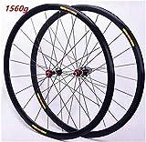 ZKORN Bicycle Accessories, Road Bicycle Wheel Set 700C Rim Brake Bicycle Wheel Double-Walled Aluminum Rim 8-11 Speed Sealed Bearing 1560g