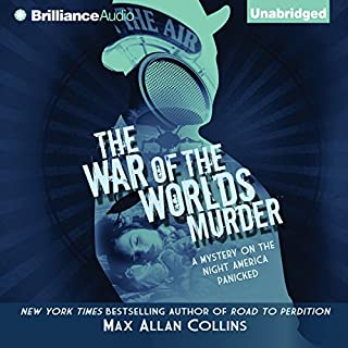The War of the Worlds Murder audiobook cover art
