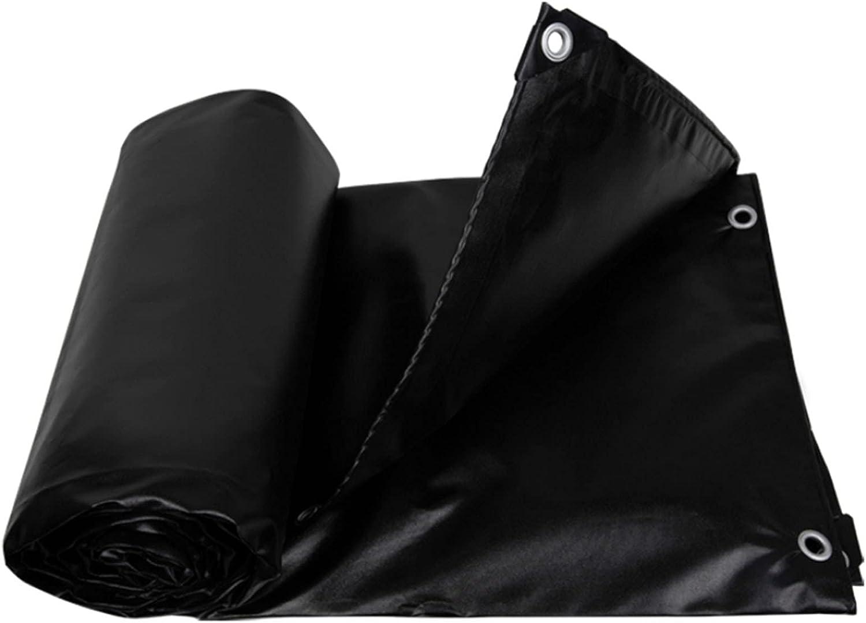AWSAD Black Tarpaulin Thicken Max 74% OFF Multi-Purpose Tarps Outdoor Sun Limited time sale Pr