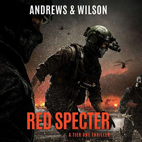 Couverture de Red Specter