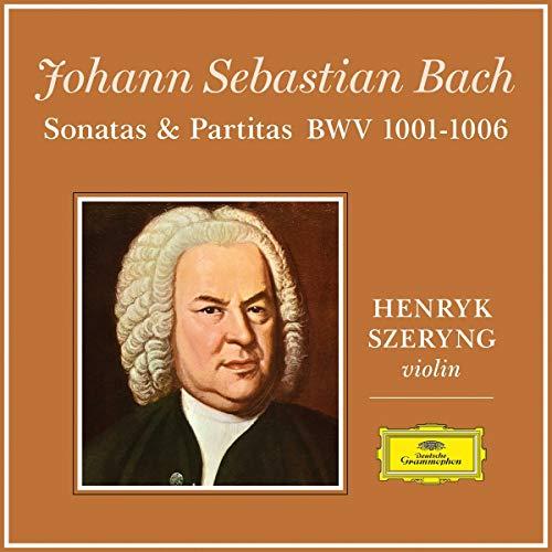 Henryk Szeryng - J.S. Bach: 6 Sonatas and Partitas for Violin Solo (Ltd. Edt.) [Vinyl LP]