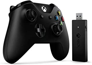 Microsoft Xbox One Wired Controller Gamepad PC,Xbox One Negro - Volante/Mando (Gamepad, PC, Xbox One, D-Pad, Menú, Inalámb...
