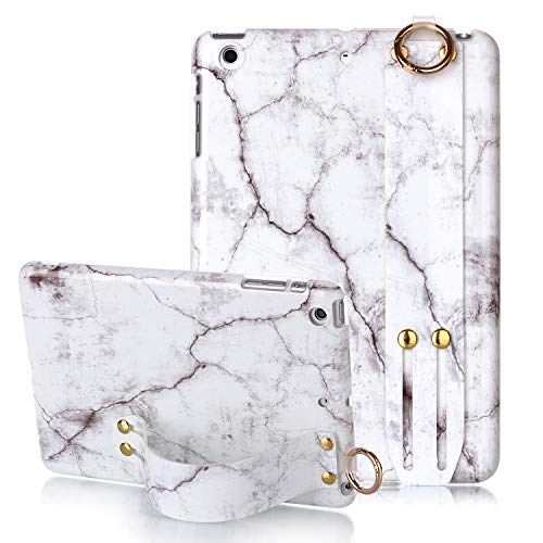 iPad Mini Case, iPad Mini 2 Case, iPad Mini 3 Case, Yoomer Marble Design Slim Thin Soft TPU Bumper Glossy Skin Anti-Scratch Protective Case with Adjustable Stand for iPad Mini 1st/2nd/3rd Generation