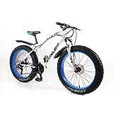 MYTNN Fatbike 26' (66,04 cm) Dérailleur Shimano 21 vitesses Hauteur de cadre 47 cm VTT à gros pneus, Différents coloris