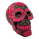 Nemesis Now - Figurine de crâne Rouge en Sucre - 15 cm